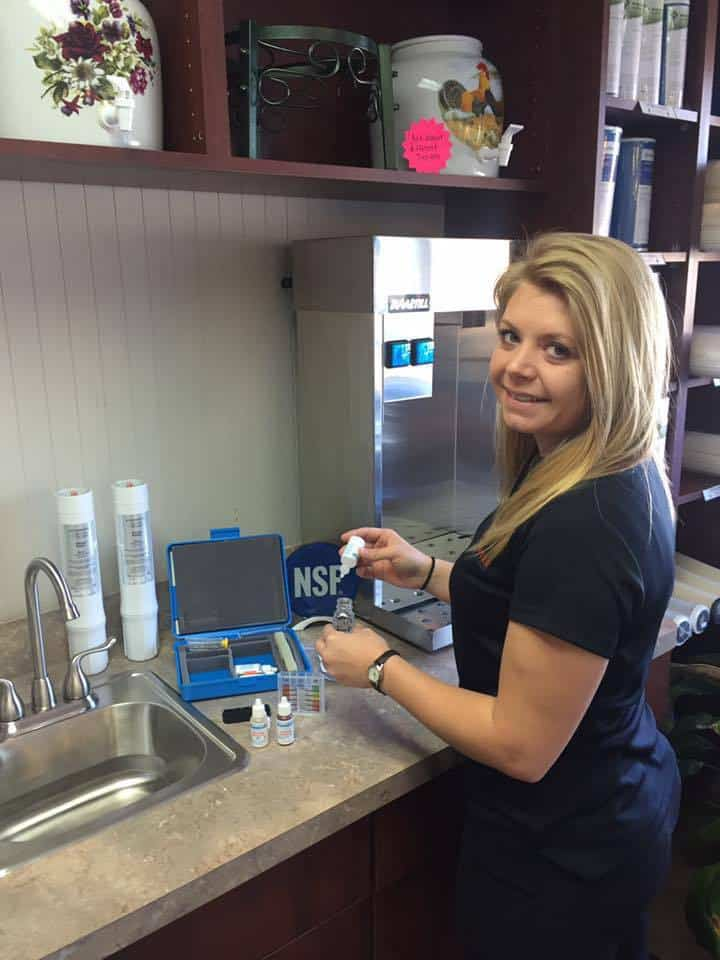 testing water for contaminants